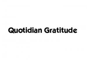 QuotidianGratitude